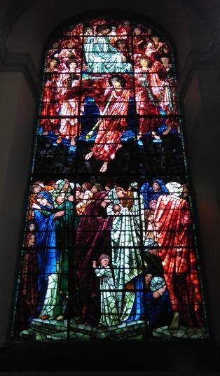 St Philip's Cathedral, vetrata