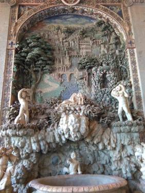 Fontana rustica - Salone d'Ercole