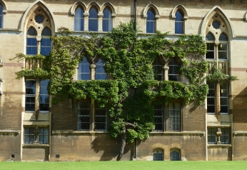 Christ Church College (detail)